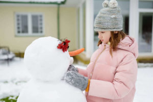 Snow Forts and Snowmen