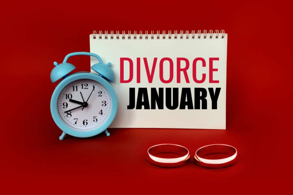 Divorce Month January