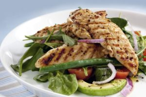 Healthy Looking Salad