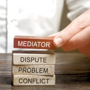 Mediation helps with disputes, problems and conflicts