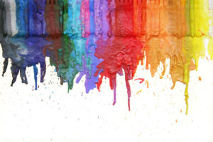 Crayon Art Projects