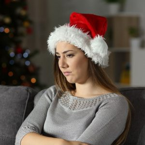 Women alone at Christmas