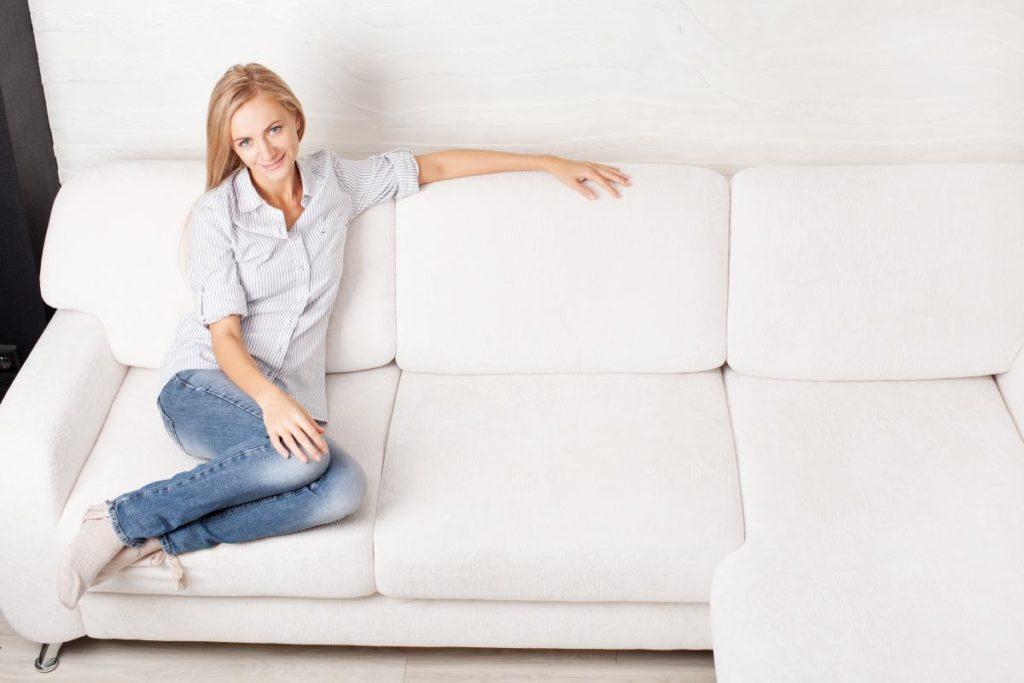 Women On No Fight Zone Sofa